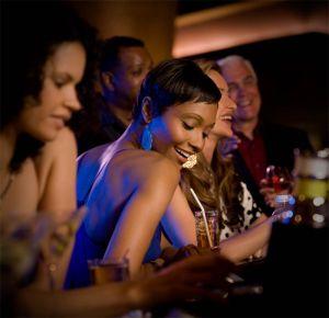 Woman in Bar